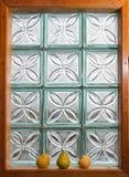 Окно и груши Стоковое Фото