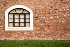 окно кирпича одностеночное Стоковые Изображения