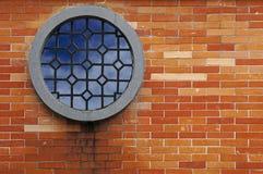 окно кирпичной стены Стоковое Фото