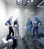 Окно красивого европейского магазина Стоковые Изображения RF