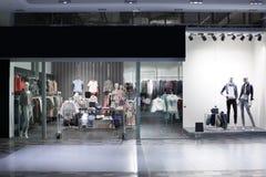 Окно красивого европейского магазина Стоковые Фотографии RF
