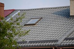 Окно крыши Стоковое Фото