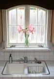 окно кухни Стоковое фото RF
