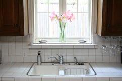 окно кухни Стоковое Фото