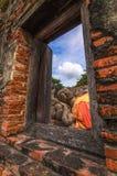 Окно к Будде стоковые фотографии rf