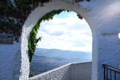 Окно к раю Стоковое Фото