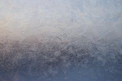 окно льда Стоковая Фотография