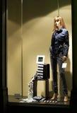 окно магазина ночи стоковое изображение rf