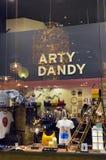 Окно магазина различных продуктов Стоковая Фотография