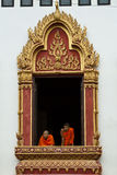 окно монахов Стоковые Фото