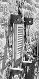 Окно на Дубровнике стоковые изображения rf