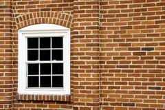 Окно на кирпичной стене Стоковые Изображения