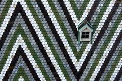 Окно на крыше Stephansdom - Wien Стоковые Фотографии RF