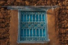Окно на текстурах стены Стоковые Фотографии RF
