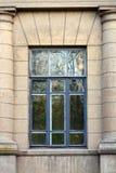 Окно на фасаде Стоковая Фотография