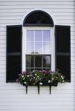 Окно Новой Англии Стоковое Изображение RF