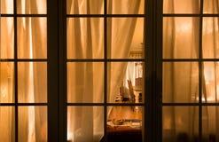 окно ночи Стоковое фото RF