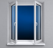 окно ночи стоковое фото