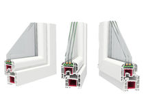 Окно образца стоковые изображения rf