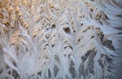окно орнамента заморозка Стоковое фото RF