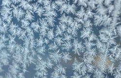 окно орнамента заморозка Стоковое Изображение