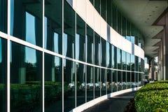 окно отражений manhattan Стоковые Изображения RF