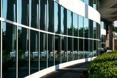 окно отражений manhattan Стоковые Фотографии RF