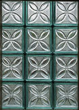 Окно от стеклянных блоков Стоковые Фото