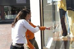 окно покупкы Стоковое Фото