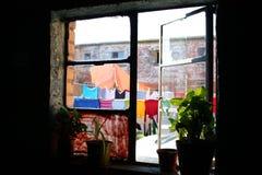 окно посёлка Cape Town Стоковое фото RF