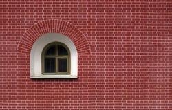 Окно полуокружности стоковые изображения