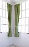 окно рамки занавеса Стоковые Фотографии RF