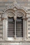 Окно ренессанса, Duomo, Мессина, Сицилия, Италия Стоковые Изображения