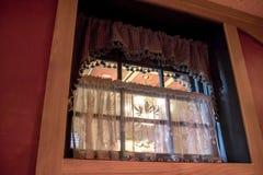 Окно ресторана Стоковое Изображение