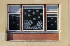 окно рождества Стоковая Фотография RF
