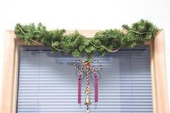 окно рождества Стоковое Изображение RF