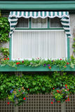 окно сада цветка butchart Стоковое Изображение RF