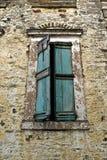 окно сбора винограда деревянное Стоковое Изображение RF