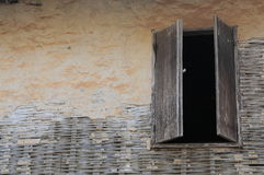 окно сбора винограда дома Стоковая Фотография RF