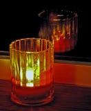 окно свечки Стоковые Изображения