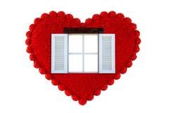 Окно сердца Стоковые Фото