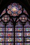 окно собора верхнее Стоковое Изображение