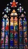 окно собора стоковое изображение