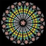 Окно собора Стоковые Изображения