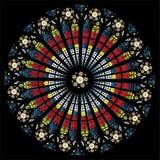 Окно собора Стоковое Фото