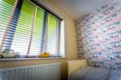 Окно спальни Childs Стоковое Фото