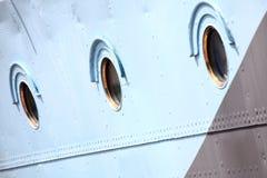 окно стали корабля предпосылки голубое стоковая фотография rf
