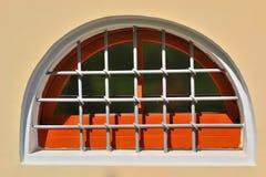 Окно старого дома с решеткой Стоковые Фото