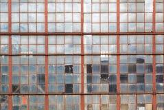Окно старого промышленного здания Стоковая Фотография RF