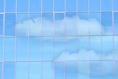 окно стеклянного зеркала Стоковые Фото